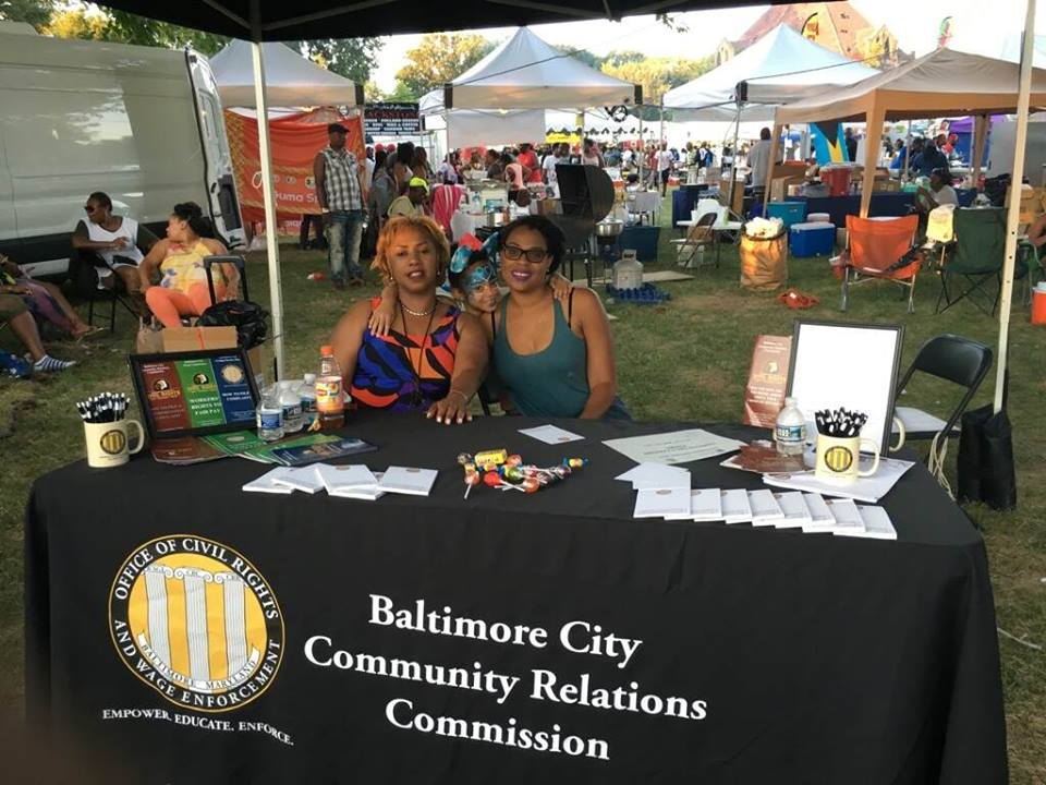 OCRWE table at the Caribbean Fest