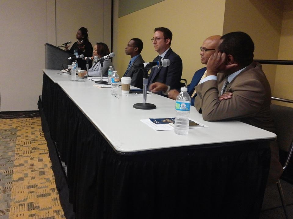 Director Carter on the NAACP Panel