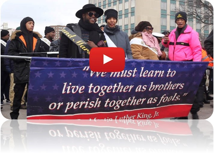 OCR participates in Day of Service events & MLK Parade...