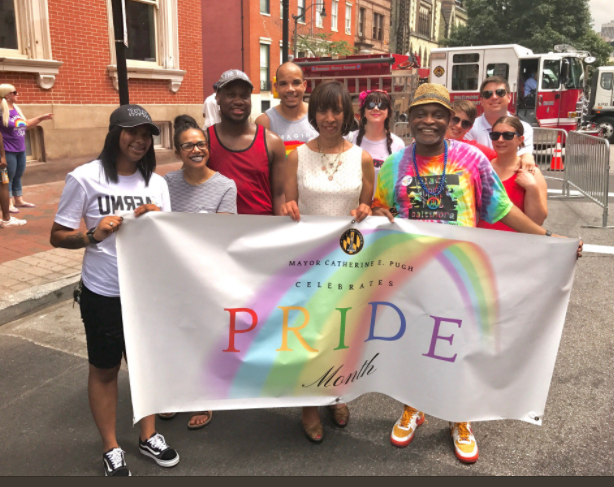 City Employees at Pride 2017
